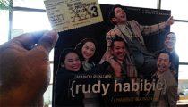 Karcis Film Rudy Habibie
